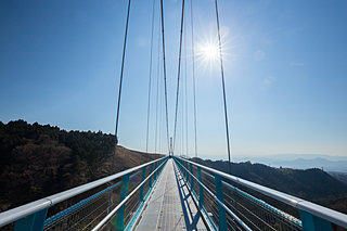 絶景♪ゆらゆら!?ゾクゾク~ッ!GWは「歩いて渡れる架橋」へ 関東・東海編