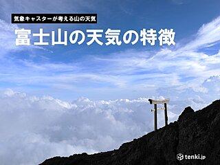 富士山の天気の傾向と特徴 雲を読むカギは「凝結」と「対流」